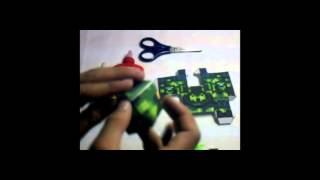 Tutorial Papercraft + como armar!!!