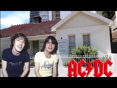 #1195 Childhood Home Of AC/DC & Malcolm Young House/Funeral - SYDNEY AUSTRALIA Travel (11/20/19)