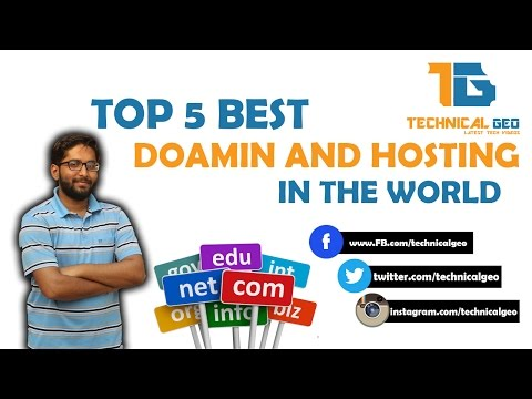 [Hindi/Urdu] Top 5 Best Domain and Hosting Providers In The World | Best Domain & Hosting