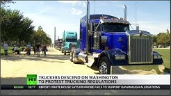 Truckers Descend on Washington to Protest Regulations