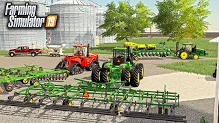 GO TIME! SENDING NEW EQUIPMENT OUT TO THE FIELD! (ROLEPLAY) | FARMING SIMULATOR 2019