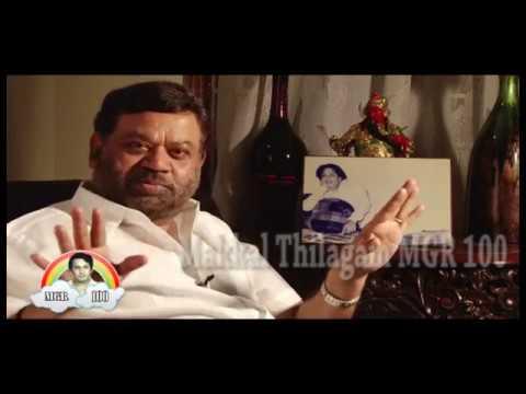 """MGR Shocked Director Sridhar"", Says Director P VASU"