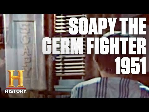 Flashback: Soapy the Germ Fighter Teaches '50s Hygiene | History