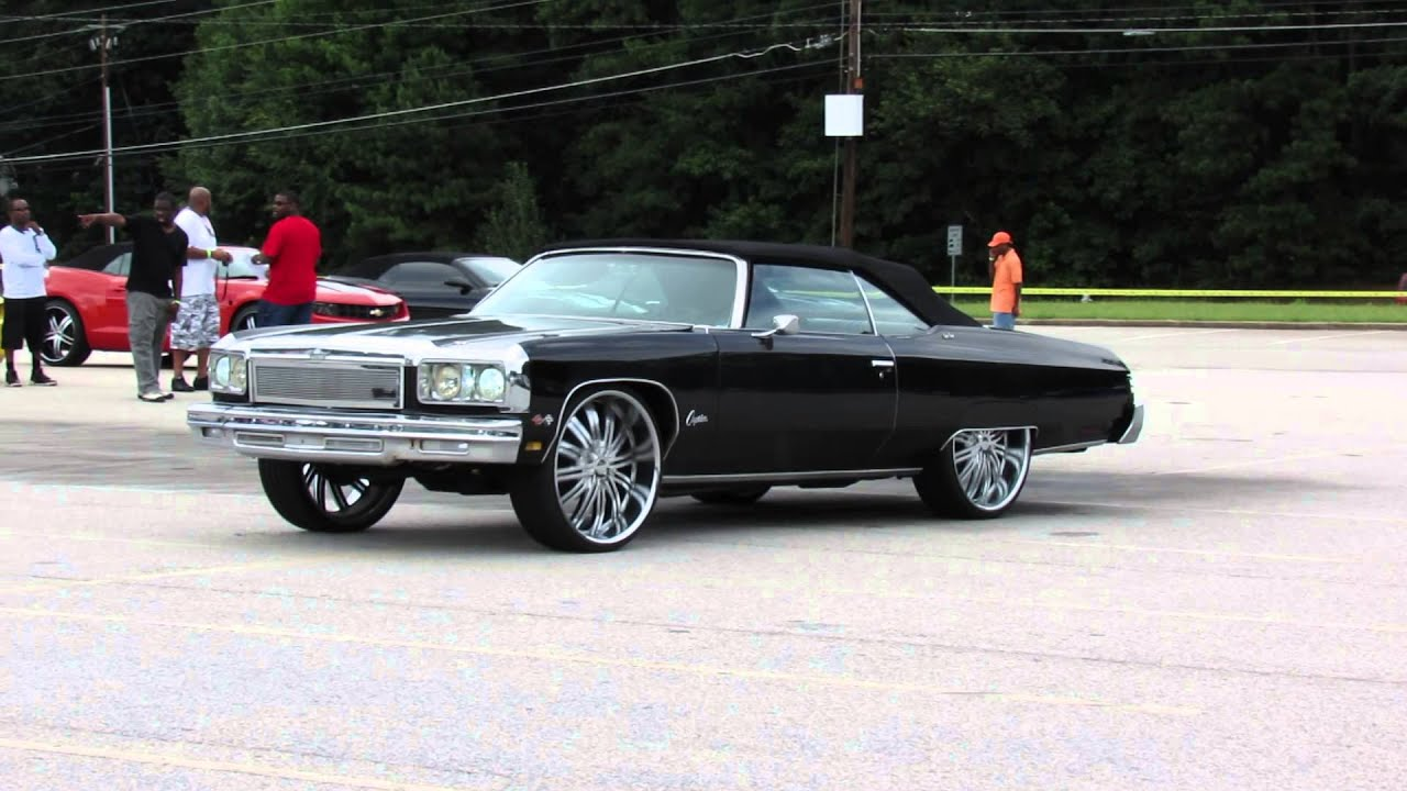 hotcarstv king of the south car show black vert donk youtube