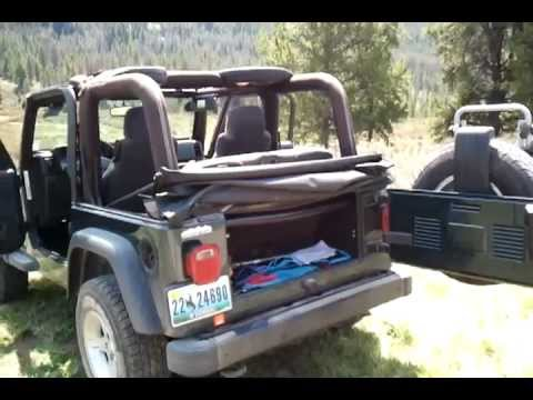 How To Take The Top Down On Your Soft Top Jeep Soft Top