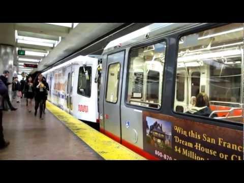 Muni Metro Powell Street Station San Francisco California