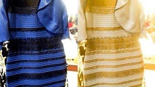 التفسير العلمي للون الفستان