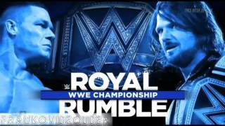 WWE ROYAL RUMBLE 2017 FULL MATCH CARD(PRUEBA #1)