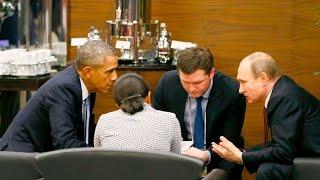 أوباما وبوتين يتفقان على وقف إطلاق نار في سوريا