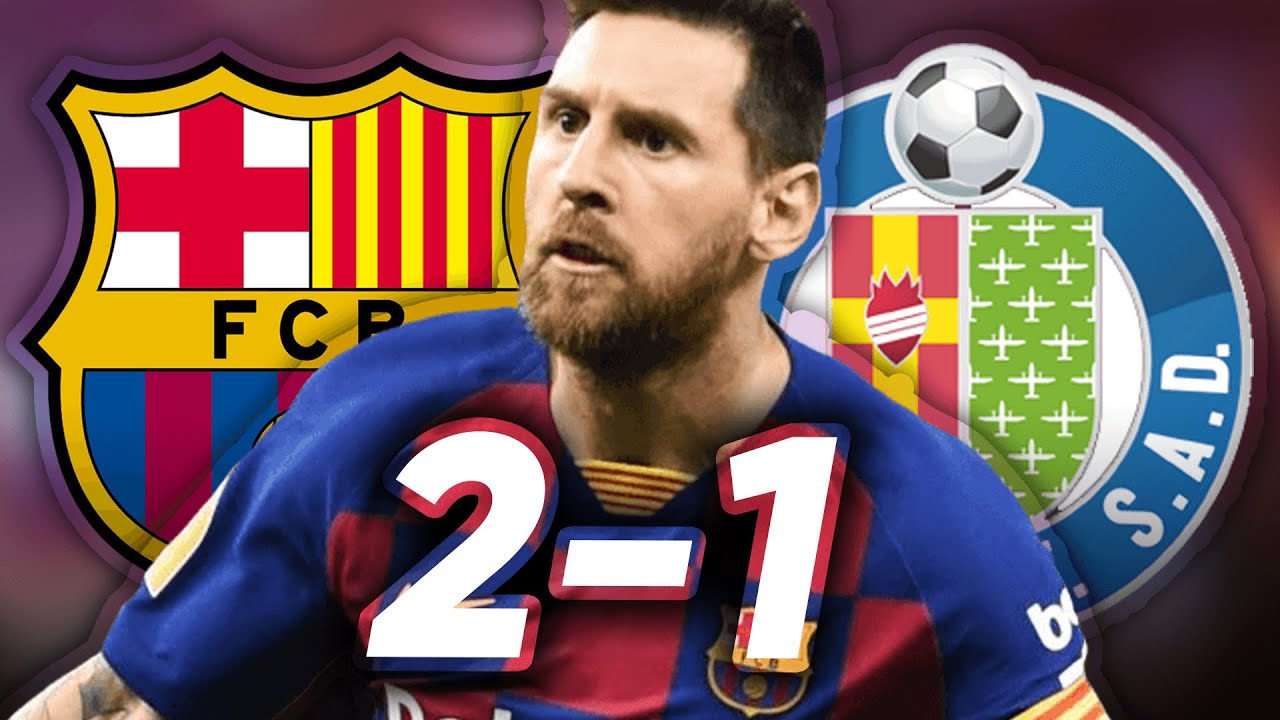 Barcelona vs. Getafe - Football Match Report - February 15, 2020 ...
