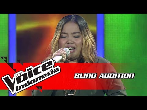 Anggie - Set Fire To The Rain | Blind Auditions | The Voice Indonesia GTV 2018