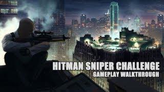 Hitman: Sniper Challenge, walkthrough gameplay