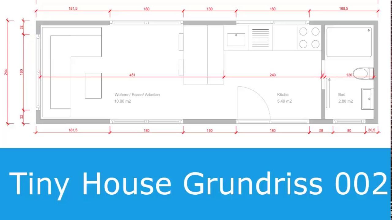tiny house grundriss mit liftbett youtube. Black Bedroom Furniture Sets. Home Design Ideas