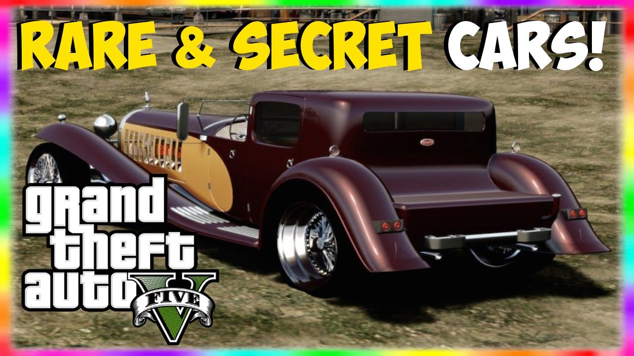 """GTA 5 Rare Cars: 2 Rare & Secret Cars In GTA 5! """"GTA 5"""