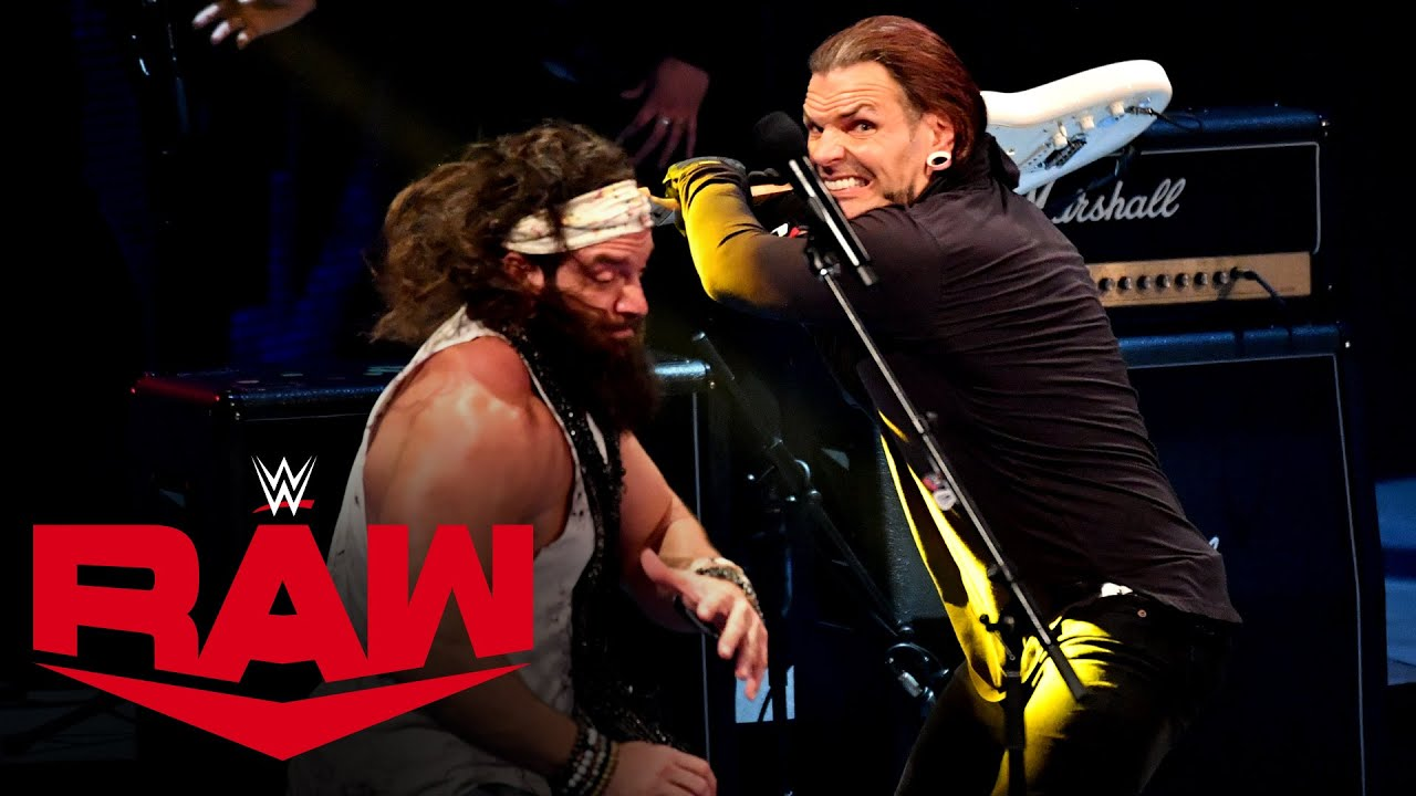Jeff Hardy crashes Elias' concert: Raw, Oct. 19, 2020