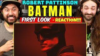 THE BATMAN (Robert Pattinson) - FIRST LOOK BATSUIT REVEAL | REACTION!!!
