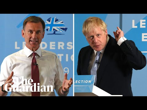 Tory leadership: Johnson and Hunt take part in latest hustings – watch