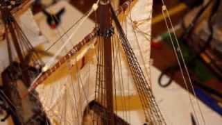 Pinta - Ship Caravel - First voyage Christopher Columbus 1492