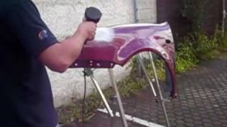 Perfekte Lackierung - Autolack aus der Spraydose - Profitipps, hier trocknen