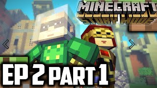 Minecraft Story Mode EPISODE 2 Part 1 || BOOM TOWN || Minecraft Story Mode Episode 2 Walkthrough