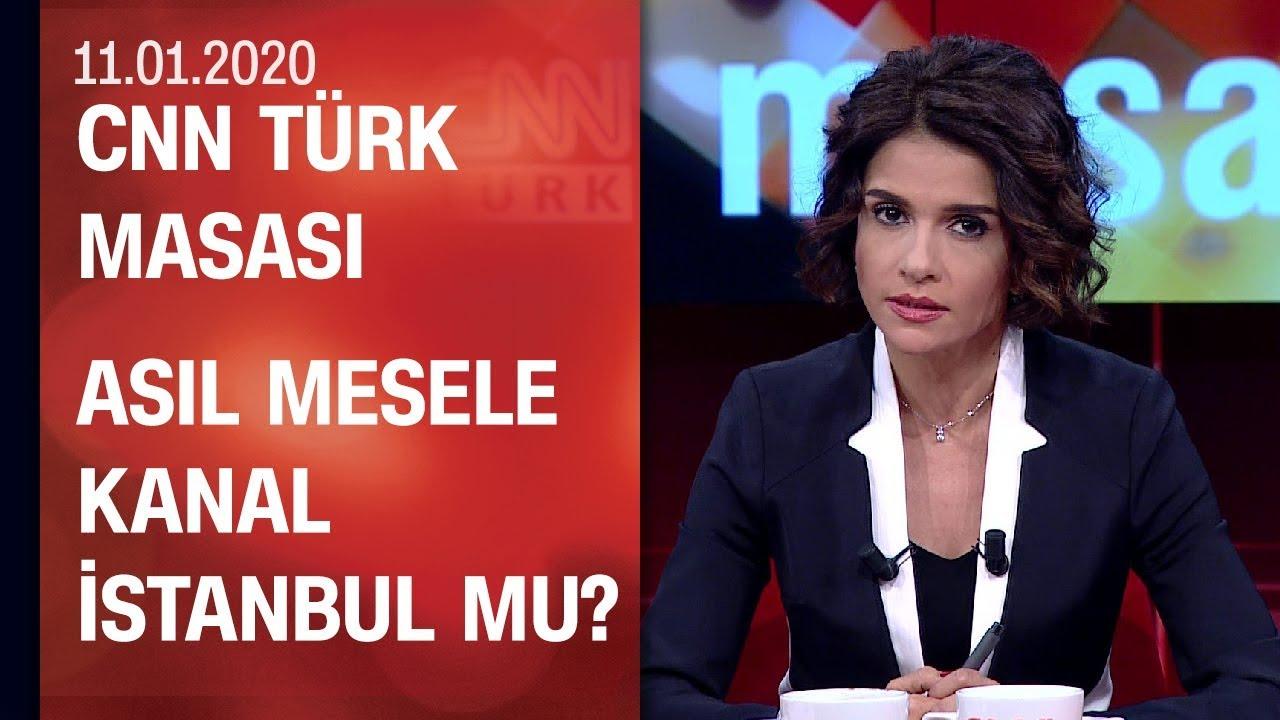 Kanal İstanbul siyaseti neden kutuplaştırdı? Türkiye Libya'da ne yapacak?-CNN TÜRK Masası 11.01