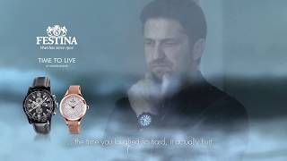Festina TV Spot 2018 - feat Gerard Butler (English subtitles)