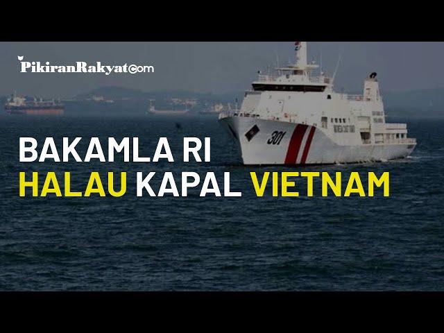 Hampir Dibobol Kapal Vietnam, Bakamla RI Berhasil Halau Kapal Kiem Ngu 215 di Laut Natuna