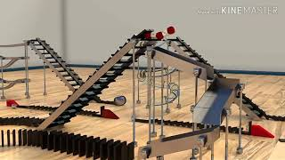 50000 Dominoes - The Incredible Science Machine _(1080P HD)