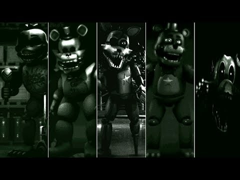 ALL JUMPSCARES FNAF - The Fredbear Archives