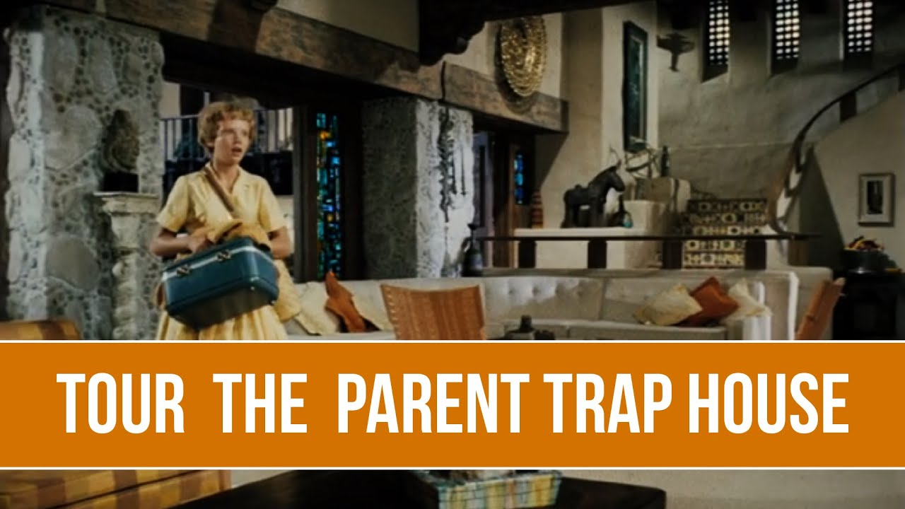 BEHIND THE SCENES: The Parent Trap Home Tour [CG Tour]