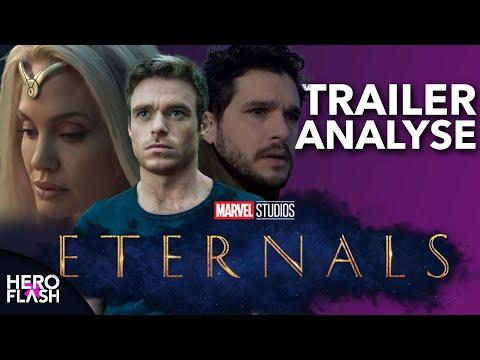 ETERNALS Teaser Trailer Analyse & Theorien   HeroFlash