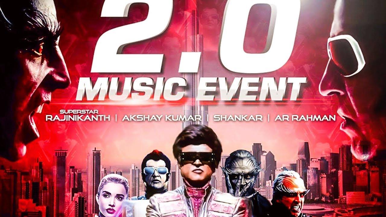 2.0 Live Performance by AR Rahman at Burj Park, DUBAI | Rajinikanth ...