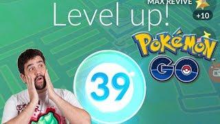 ¡SUBO A NIVEL 39 en Pokémon GO y SORTEOS CUENTAS #KeibronsPower! [Keibron]