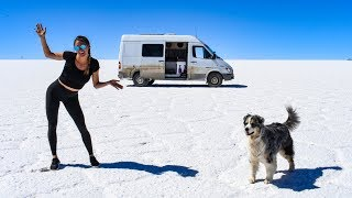 You Won't Believe This is REAL | Van Life on The World's LARGEST Salt Flats