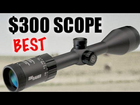 Best Rifle Scope Under $300