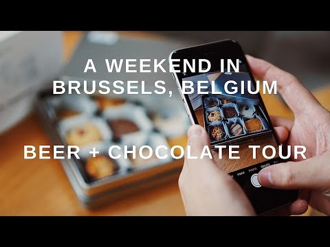 A weekend in Brussels, Belgium | chocolate and beer tour 🍻