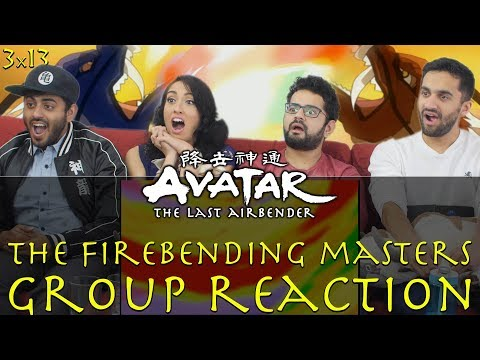 Avatar: The Last Airbender - 3x13 The Firebending Masters - Group Reaction