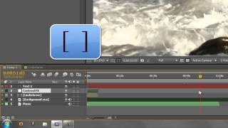 AE Basics 8: Timeline Basics 3 - Work-area & layer short-cuts