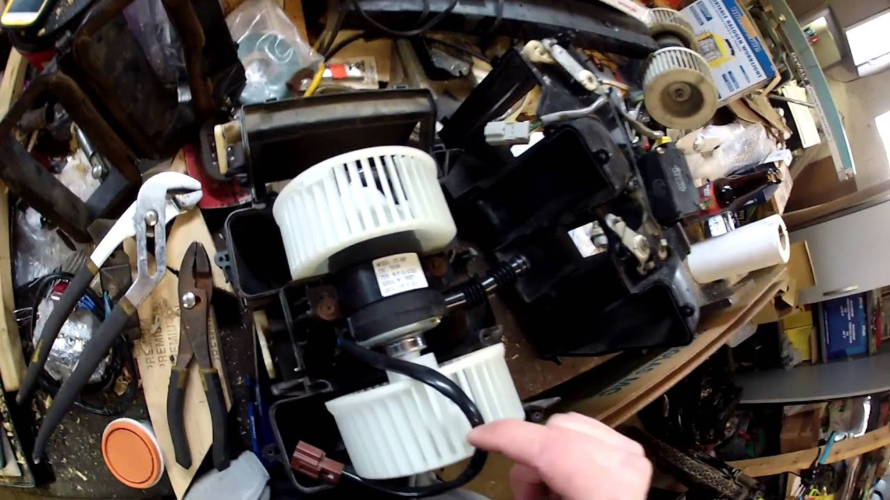 Blower Motor Removal and Installation YouTube