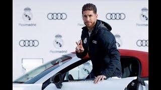 """لاعبو ريال مدريد يستلمون سيارات أودي الجديدة """"فيديو وصور"""""""