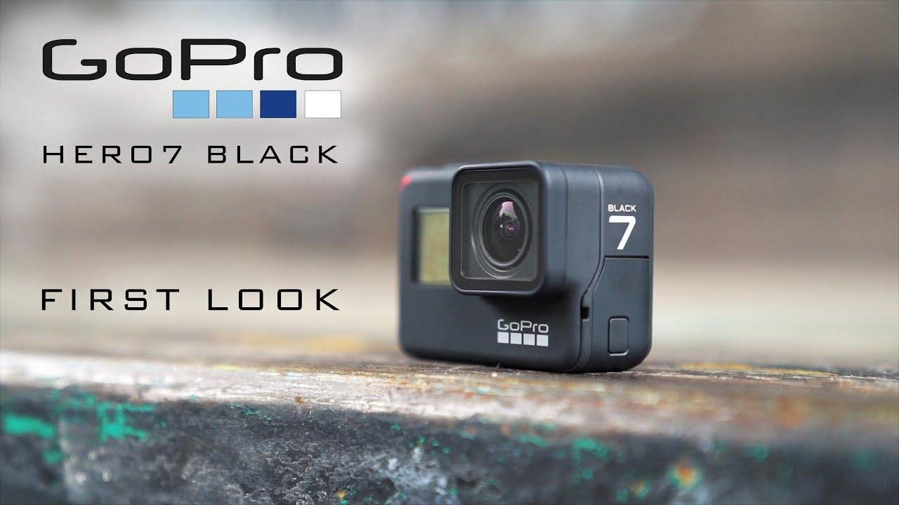 FIRST LOOK: GoPro HERO7 Black