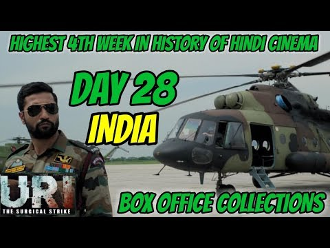 URI: THE SURGICAL STRIKE BOX OFFICE COLLECTIONS DAY 28 | INDIA | HIGHEST 4th WEEK IN HINDI CINEMA Mp3