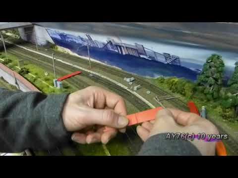 Building A Model Railway – Installing Catenary (Dapol)