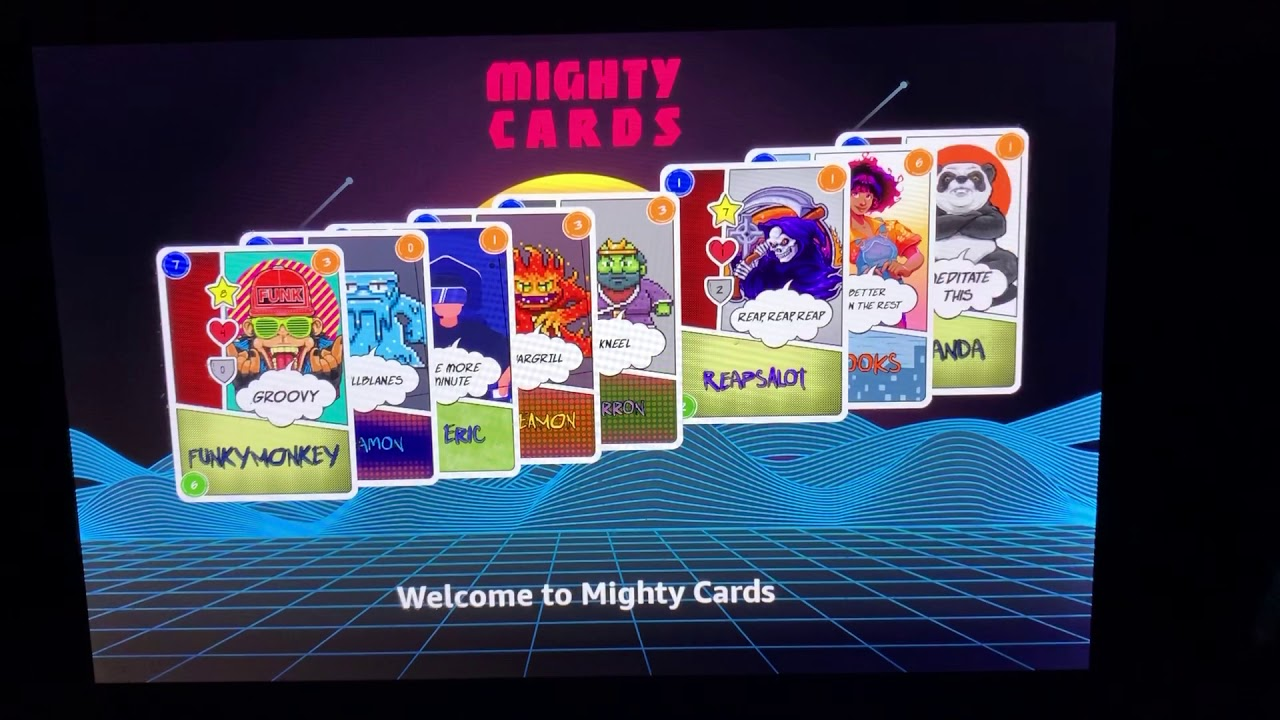 Might Cards gameplay demo