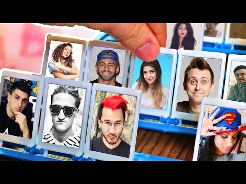 Youtuber Guess Who Challenge!