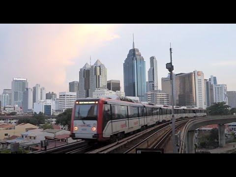 Rapid KL: The Light Rail Transit in Kuala Lumpur, Malaysia (#3,4)