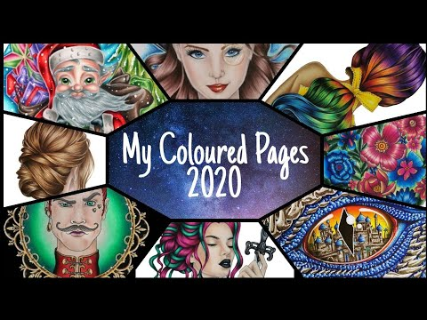 My Coloured Pages 2020