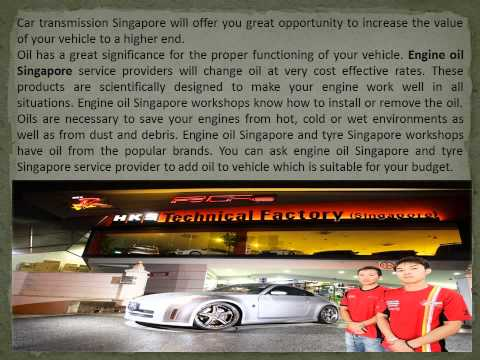 Car workshop Singapore - hks-garager