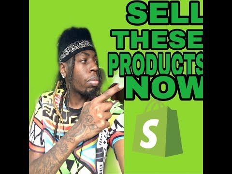 Shopify Dropshipping - Top 10 Winning Products to Sell NOW thumbnail
