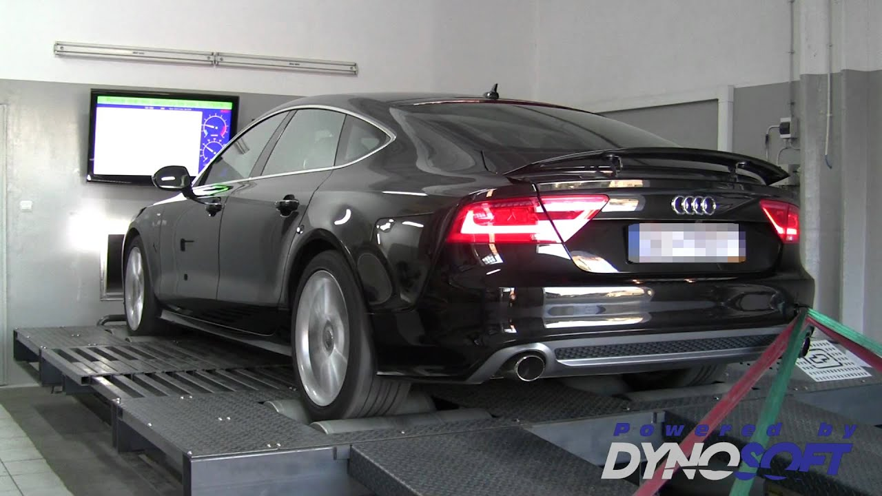 audi a7 3 0tdi v6 cduc 331km tuning i hamownia w dynosoft. Black Bedroom Furniture Sets. Home Design Ideas